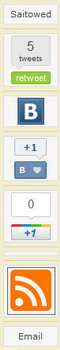 Плагин для добавления в социальные закладки для WordPress - Sharebar